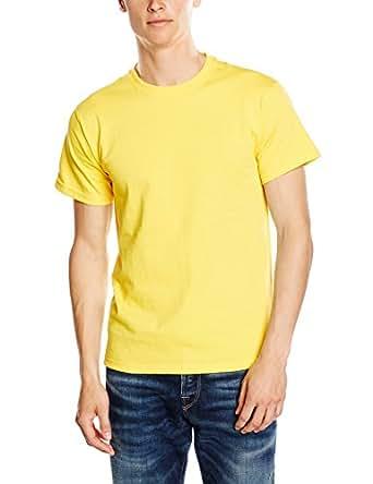 Fruit of the Loom Heavy Men's T-Shirt: Amazon.co.uk: Clothing