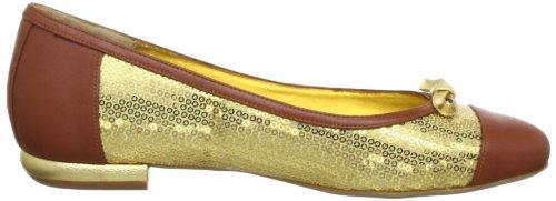 Beverly Feldman 50120-710-400, Ballerines femme Or (Golden/Cuio)