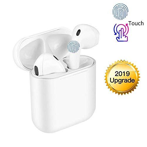 Bluetooth Kopfhörer Kabellos In Ear Sport Ohrhörer 3D Stereo HD Joggen V5.0 Stereo-Sound Headset mit Ladestation und Mikrofon für iPhone Apple Airpods Android Samsung Huawei