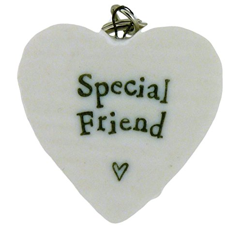 east-of-india-special-friend-porcelain-heart-keyring