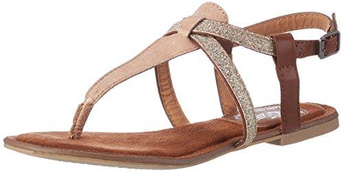 Fritzi aus Preussen Damen Sandals 03 Offene, Beige (Nude), 38 EU