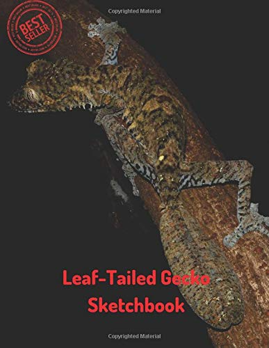 Leaf-Tailed Gecko Sketchbook: Blank Paper for Drawing, Doodling or Sketching 100 Large Blank Pages (8.5