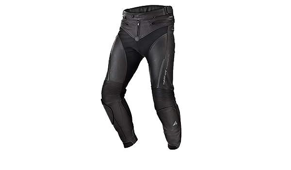 Sport Motorradhose aus Leder mit Protektoren f/ür Herren SHIMA Chase Gr/ö/ße 50 Schwarz 48-58, Schwarz