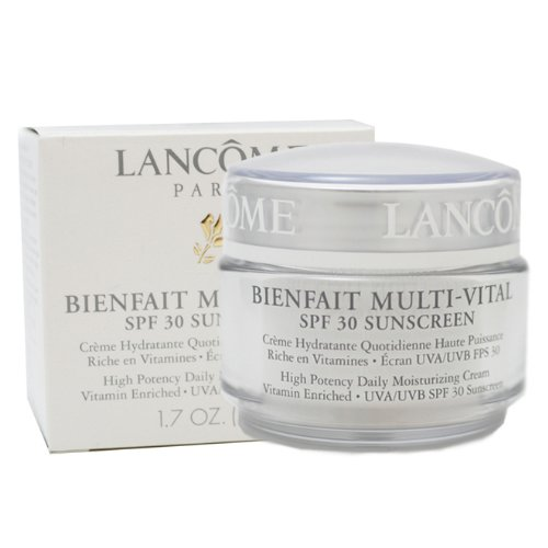 Preisvergleich Produktbild Lancome Bienfait Multi-Vital By For Women. High Potency Daily Moisturizing Cream Vitamin Enriched Uva/Uvb Spf 30 Sunscreen