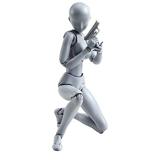 lzn Körper Chan & Kun Puppe Männlich Weiblich DX Set PVC Movebale Action Figure Modell Für SHF Geschenke