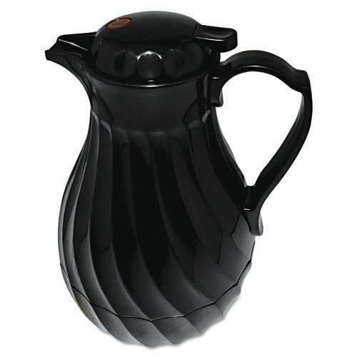 hormel-poly-lined-carafe-swirl-design-64-oz-capacity-black-sold-as-1-each-polyurethane-insulation-ke