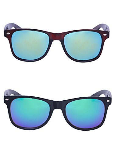 Amour-propre AmourPropre Multicolor UV Protected Unisex sunglasses Pack of 2_(AM_CMB_LP_2912.1)