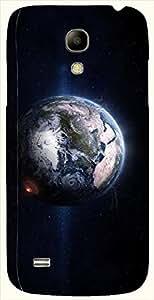 Pretty multicolor printed protective REBEL mobile back cover for Samsung I9190 Galaxy S4 mini D.No.N-L-12286-S4M