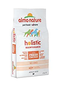 Almo Nature Dog Food Holistic Medium with Chicken and Rice 12 Kg