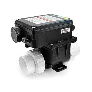 AQUADE Heizung Whirlpool Whirlpoolheizung SPA Durchlauferhitzer CE + TÜV Zertifiziert Leistung: 2 KW