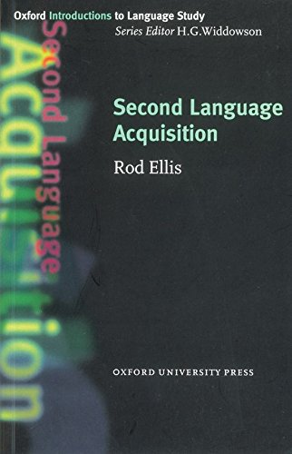 Second Language Acquisition (Oxford Introduction to Language Study)