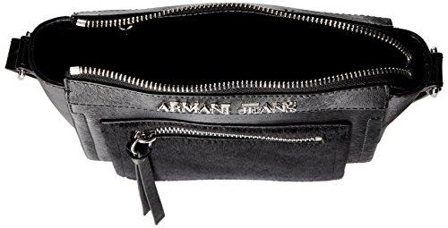 Armani - 9221046A728, Borse a Tracolla Donna Nero (Schwarz (NERO 00020))