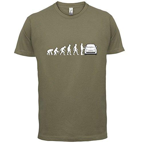 Zurück in die Zukunft Uhr - Herren T-Shirt - 13 Farben Khaki