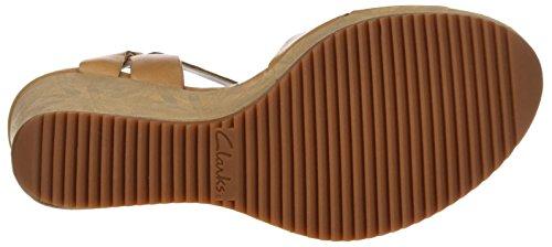 Clarks Damen Adesha River Slingback Braun (Tan Leather)