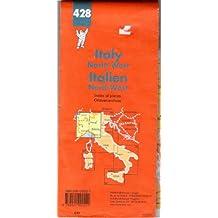 Carte routière : Italie Nord-Ouest, N° 428