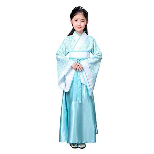 Kostüm Tanz Kleider - Meijunter Chinesischer Stil Retro Hanfu - Traditionell Uralt Prinzessin Performance Kostüm Tanz Kleid Cosplay Kleidung