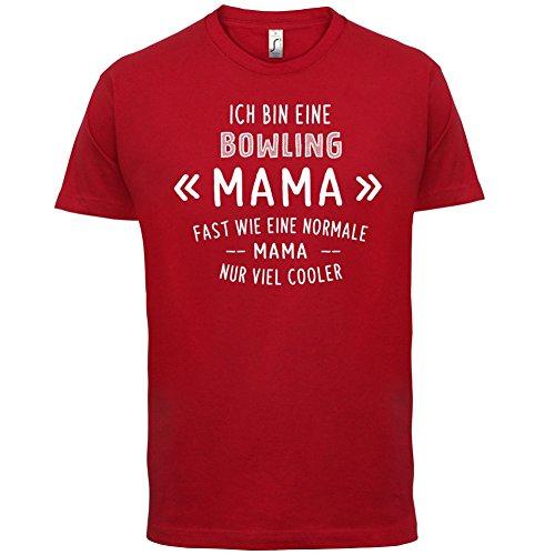 Ich bin eine Bowling Mama - Herren T-Shirt - 13 Farben Rot