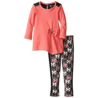 A.B.S. by Allen Schwartz Baby Girls' Lily Top and Legging Two-Piece Set