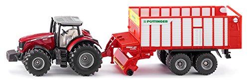 Siku 1987 Massey Ferguson Traktor mit, bunt
