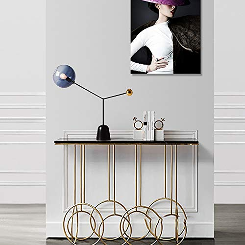 GAL Fashion Nordischen Stil Kreative Post-Moderne Lampe Kunst Persönlichkeit Wohnzimmer Bett Marmortisch 66 * 60cm Augen Schützen