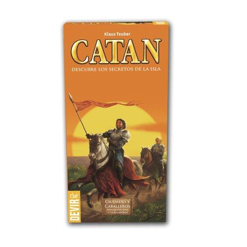 Devir Ampliacion de 5 y 6 jugadores para Ciudades y Caballeros de Catan. Miscelanea BGCIU56