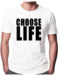 Wham Choose Life Men's Fashion Quality Heavyweight T-Shirt.