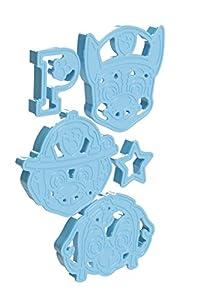 PAW PATROL 720367de Galletas, 5Unidades, Galletas, Color Azul