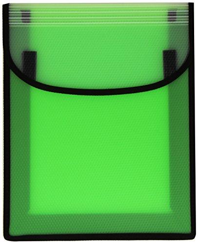 VELOFLEX Velobag Heftbox, A4, PP-Folie, Klettverschluss (farblich sortiert)