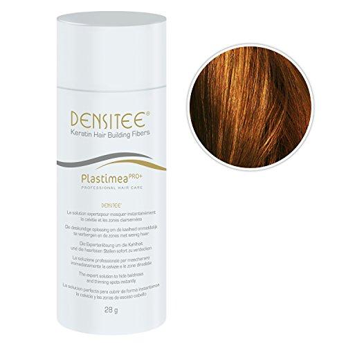 Densitee 28 g für Frauen - Verdeckendes Puder bei Haarausfall - Keratinfasern zur Haarverdichtung - Volleres Haar in ein paar Sekunden - Hellbraun