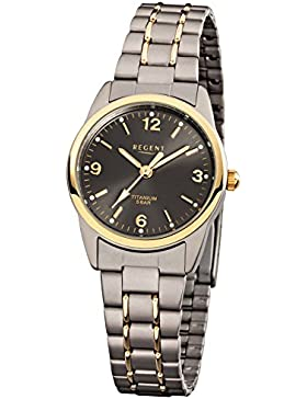 Regent Damen-Armbanduhr Mineralg