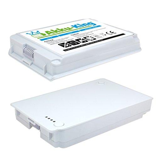 Akku Li-Ion kompatibel mit Apple iBook G3, G4 14 Zoll 35 cm 4400mAh 14,4V grau -