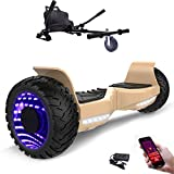 Hoverboard con ruote 8.5 pollici, inlude kart, Balance Board SUV Off-Road, 700W...