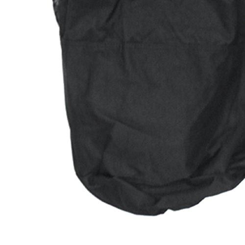 MagiDeal Große Kapazität Bälle Tragetasche, Sport Rucksack, Handtasche - Basketball, Fußball, Volleyball Bälle Aufbewahrungsbeutel Schwarz