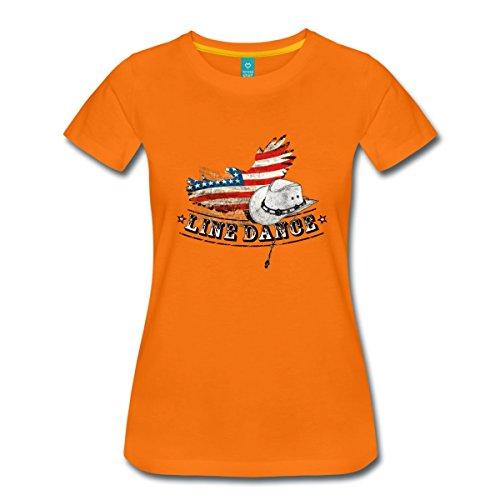 Spreadshirt line t-shirt pour femme dance