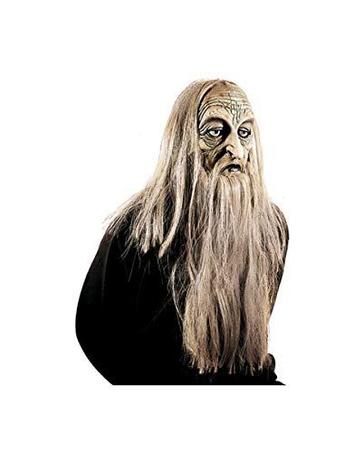 Horror-Shop Troll Maske Magiaz (Potter-troll-spielzeug Harry)