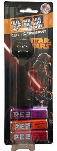 Pez Candy Dispenser: Star Wars Darth Vader Blister Card (Pez-star Wars-candy & Dispenser)