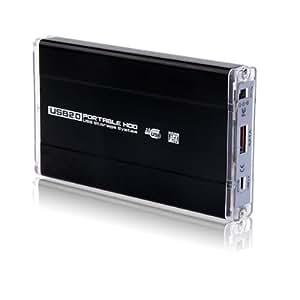 BOITIER DE DISQUE DUR EXTERNE IDE/SATA USB 2.0 500GB
