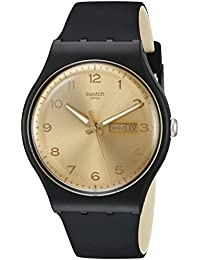 Swatch Unisex Erwachsene Armbanduhr Digital Quarz Silikon SUOB716