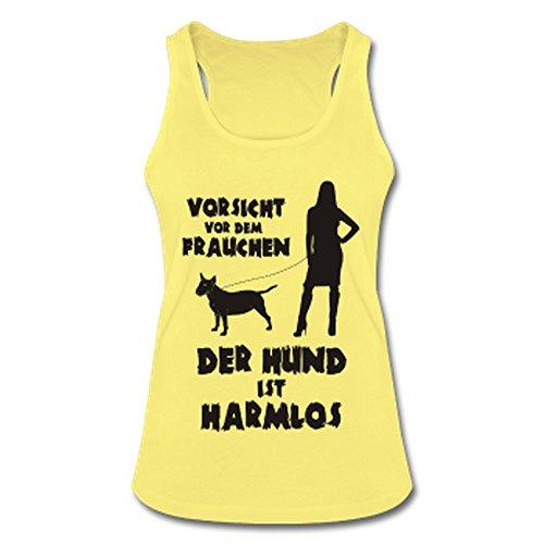 Terrier: Vorsicht vor dem Frauchen – der HUND ist HARMLOS Schwarz