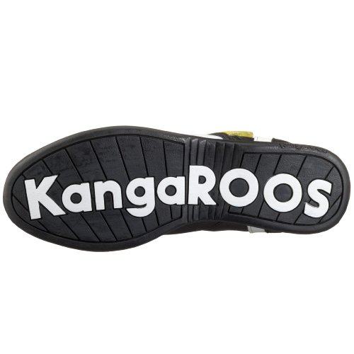 KangaROOS Swish-Hi-Multi 31220, Baskets mode femme Noir brillant