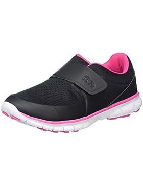 Lonsdale Lima Velcro, Zapatillas de Deporte para Exterior Niñas