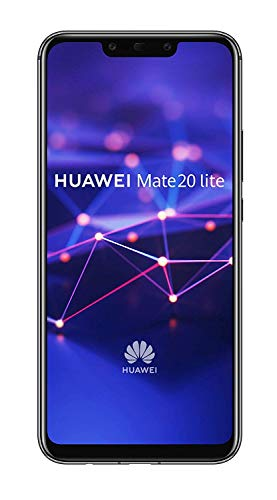 Huawei Mate 20 lite Dual-SIM Android 8.1 Smartphone mit Dual-Kamera, black (West European Version) -