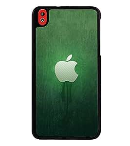 Fuson Premium 2D Back Case Cover Green apple With Multi Background Degined For HTC Desire 816::HTC Desire 816 G
