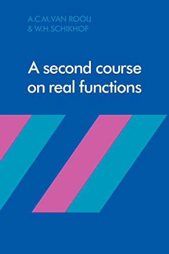 A Second Course on Real Functions