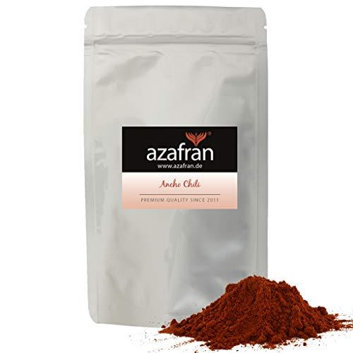 Azafran Ancho Chili Pulver gemahlen | Poblano Chili 250g