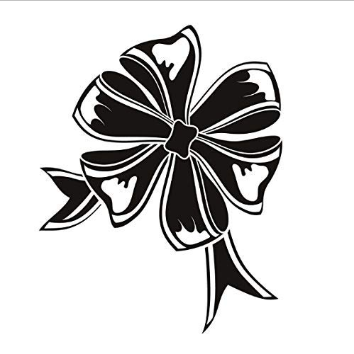 Bogen Band Wandtattoo Aushöhlen Lounge Dekoration Pvc Wasserdichtes Design Maßgeschneiderte Farben Wandaufkleber Wohnkultur 44X56 Cm -