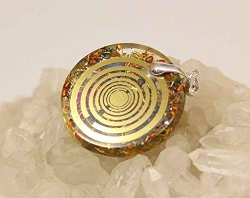 Orgonit MWO Amulett Lakhovsky, 925er Silber Multiwellen Oszillator