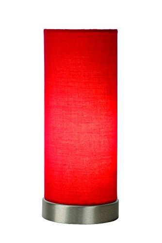 Lucide TUBI - Tischlampe - Ø 10,5 cm - Rot