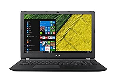 Acer Aspire ES1-523-20DG NX.GKYSI.001 15.6 Inch Laptop (APU Dual Core E1/4GB/1TB/Linux) Midnight Black