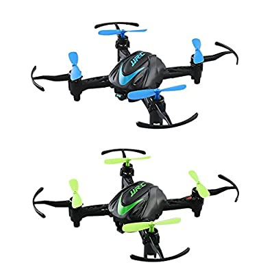 Everpert Remote Control Aircraft Toy, Mini Ultra Light Folding 6-Axis Gyroscope Quadcopte Drone Toy for Kids